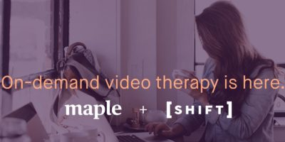 Announcing on-demand therapy