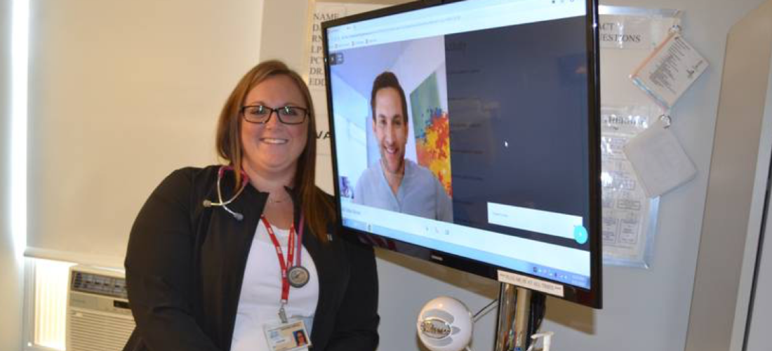 Alberton's Western Hospital piloting tele-rounding