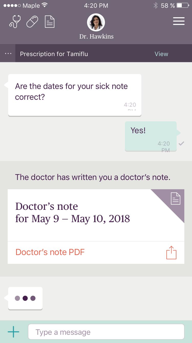 online doctor u0026 39 s note for work  u0026 school
