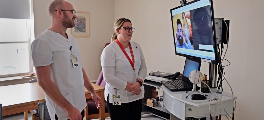 Toronto company doing 'virtual' rounds in rural P.E.I. hospital