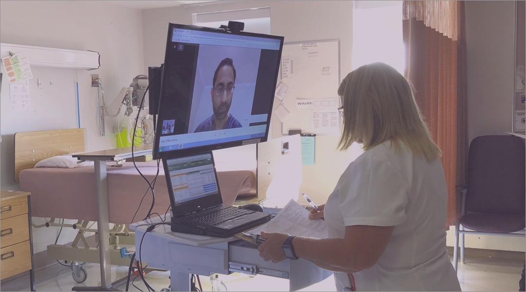 Tele-hospitalist