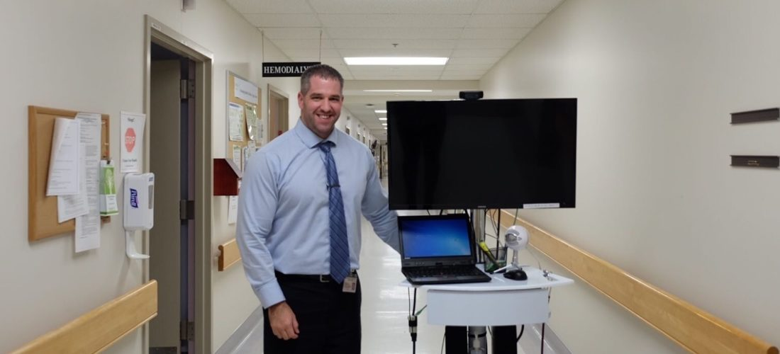Doctors on the TV: Small East Coast hospital tries medical care via video screen