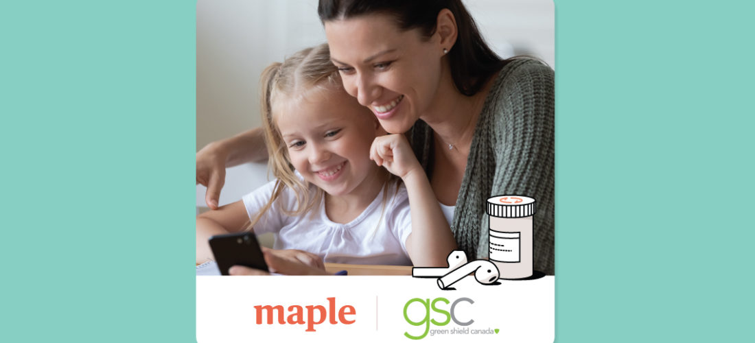 Maple and Green Shield Canada Bring Virtual Care Access to Group Plan Members