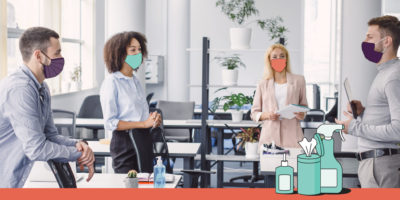 Five tips for re-opening your office with employee wellness in mind